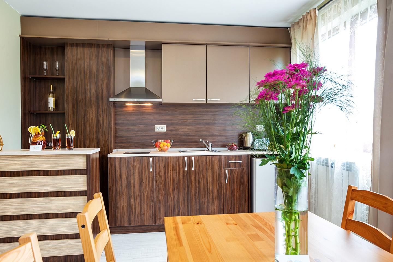 Апартамент с 2 самостоятелни спални и изглед към местността Чиракман